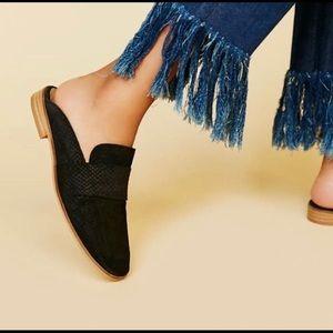 Free People At Ease Loafer slip on shoes black